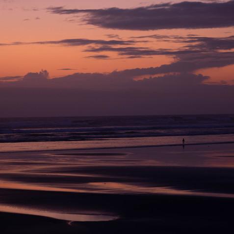 Sunset - Ocean Shores, Washington