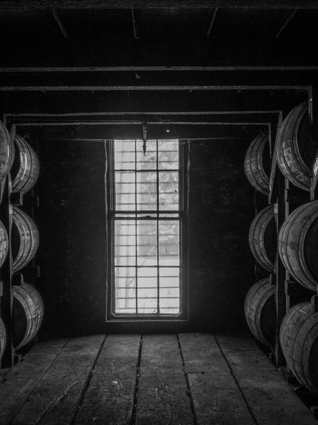 Bourbon in Barrels