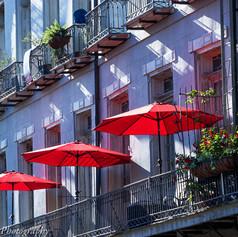 French Quarter Umbrellas