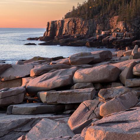 Sunset at Otter Point