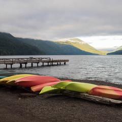 Canoes-Crescent Lake