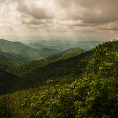 Storm Over Blue Ridge