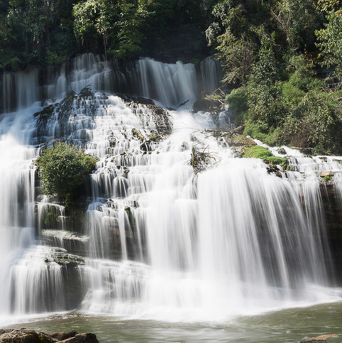 Waterfall at Rock Island