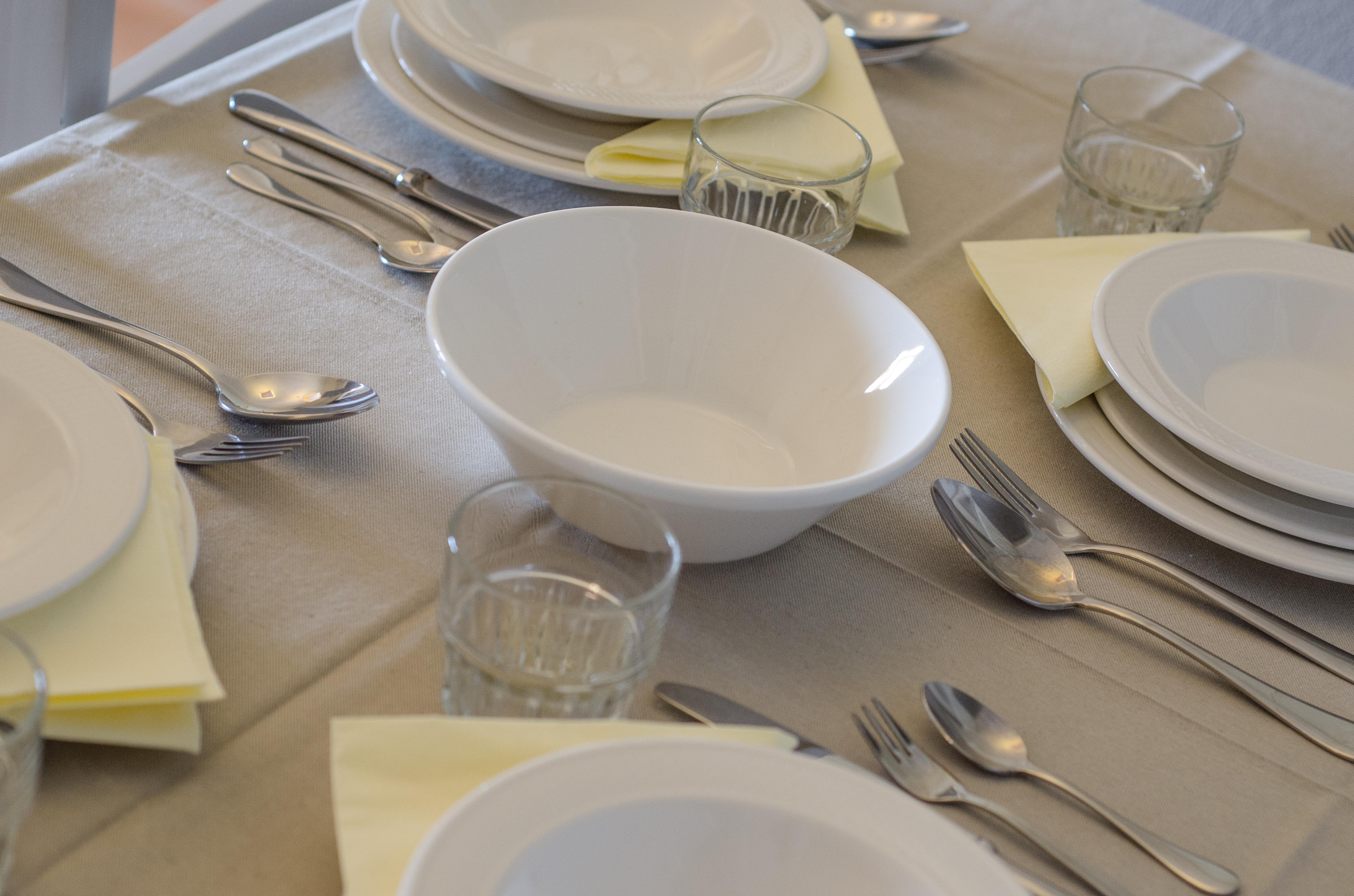 dinner equipment