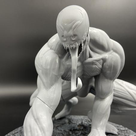 [UPDATE #2] Venon Statue Inspired by Clayton Crain's Comic Book Cover