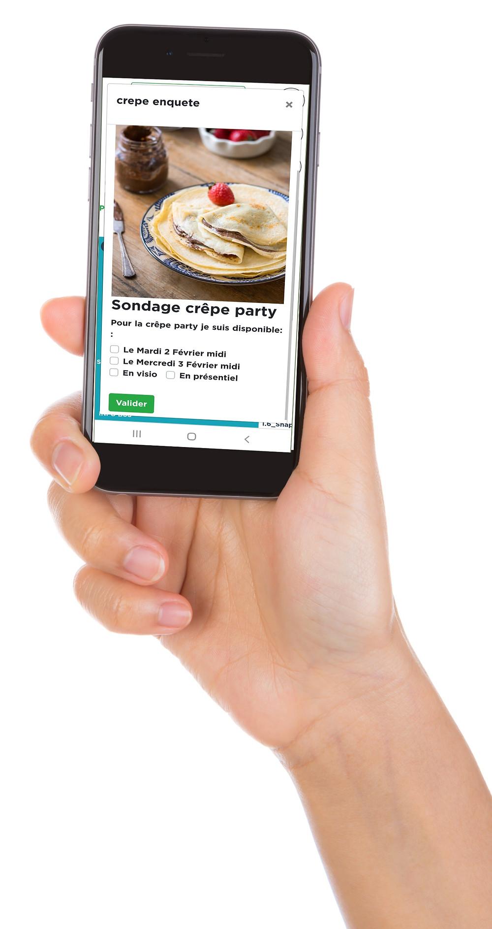 Affichage en entreprise écrans communication interne enquêtes