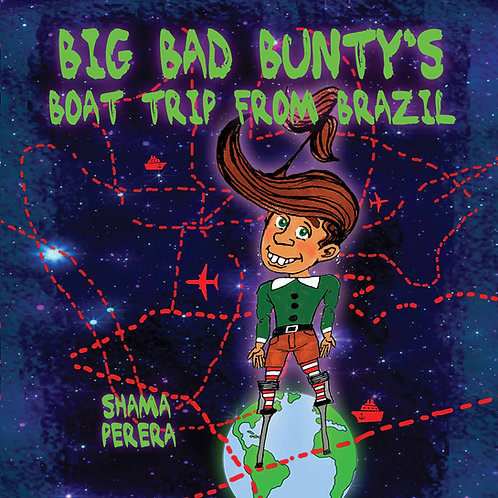 (Paperback) Big Bad Bunty's Boat Trip From Brazil