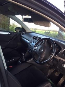 VW Golf 1.4 GT dash