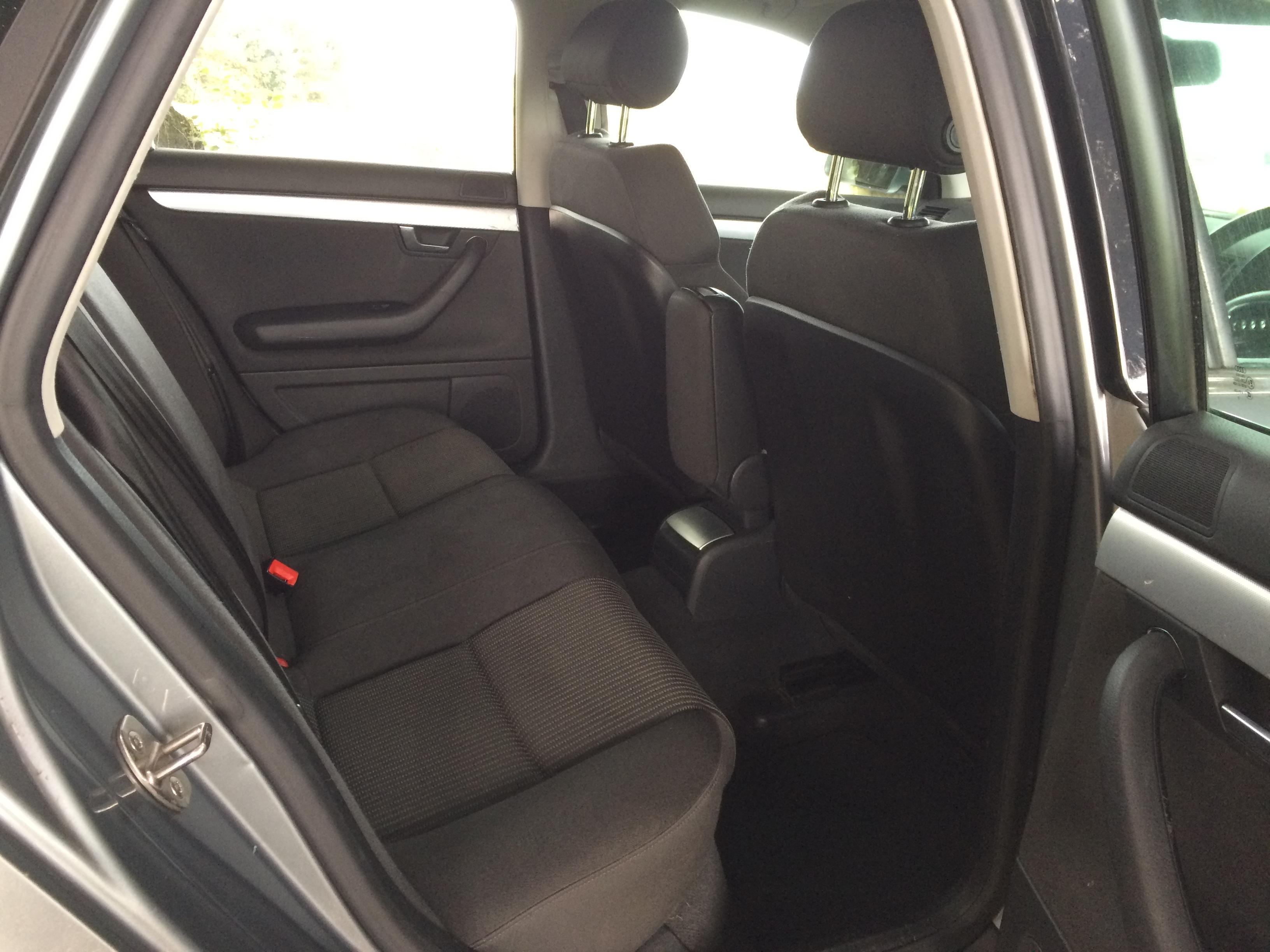 Audi Rear seats
