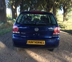 VW Polo rear view