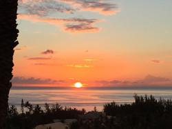 Sunset @Villa Prana