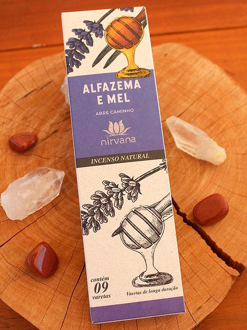 Incenso Natural   ALFAZEMA e MEL
