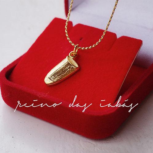 Corrente Atabaque | dourada | prateada |