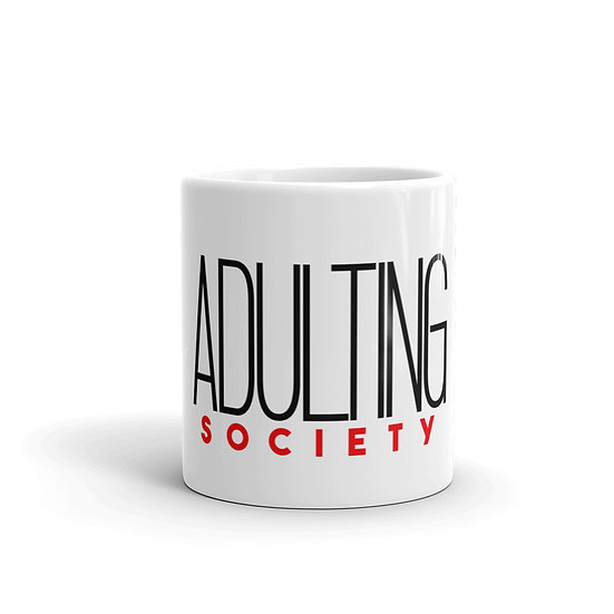 Adulting Society Mug