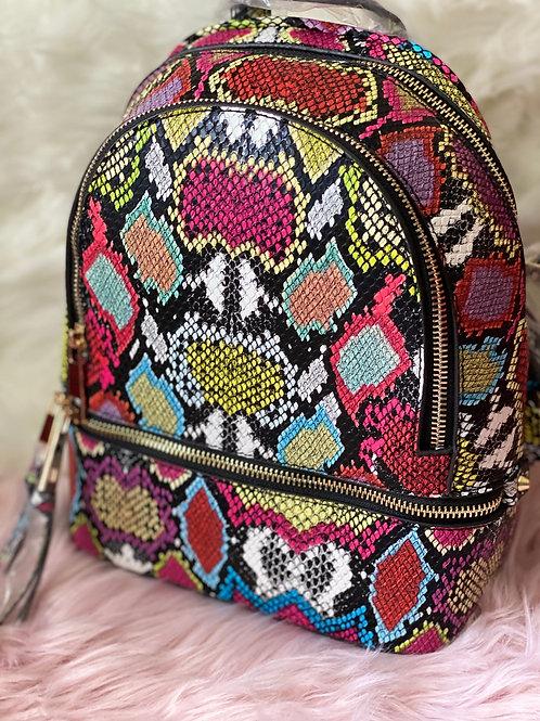 Snake Skin Bookbag