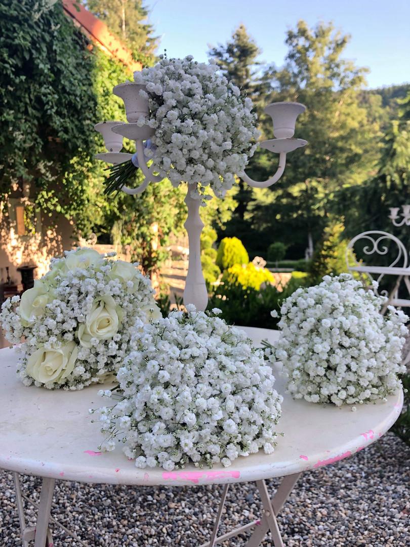 Ensemble de bouquets