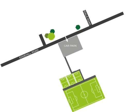 Harraby Sports Complex Astro Turf Map