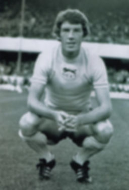 Billy Rafferty during his Carlisle United days from 1976 to 1978