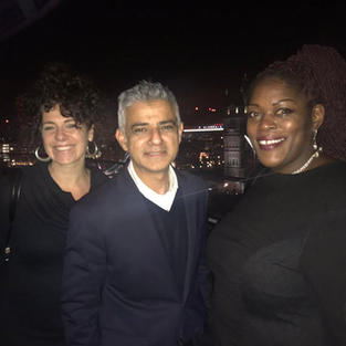 In December 2018, London Mayor Sadiq Khan met with our Founder and CEO Abi and our Services Manager Lorraine. MOPAC funds the pan-London Rescue and Response service.