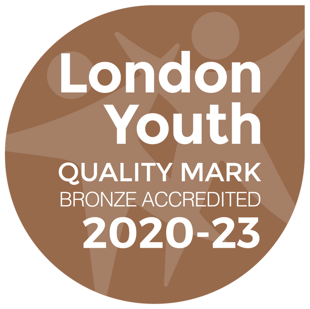 We're delighted to have received London Youth's Bronze Quality Mark! You can read more about it here: https://londonyouth.org/what-we-do/quality-assurance/