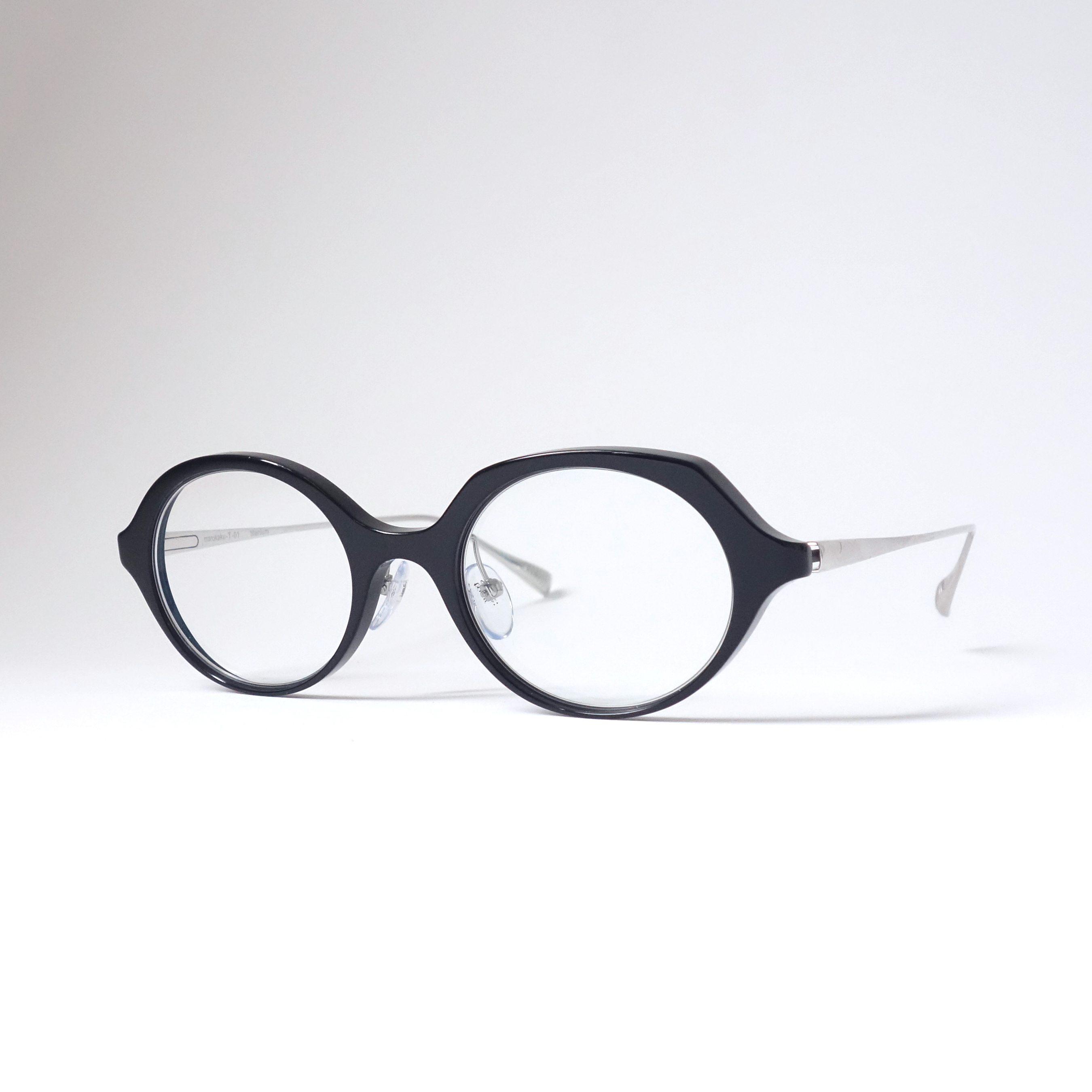 marukaku-T col.01 [black silver]