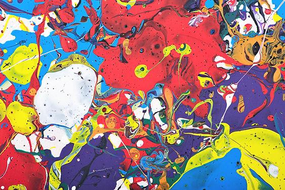 Splatter краски