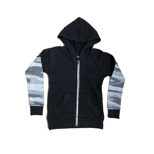 Thermal Sleeve Zip Hoody