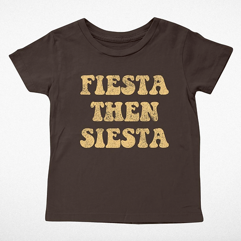 Tiny Whales Fiesta then Siesta T-Shirt