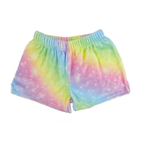 Silky Fuzzy Shimmer Shorts