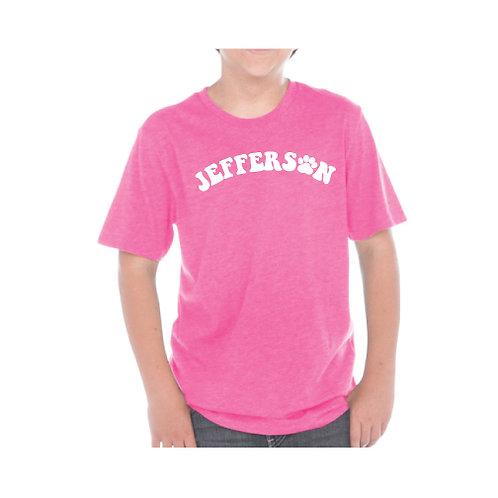 Glitter Jefferson Paw T-Shirt