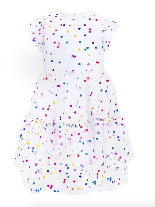 Tulle Confetti Dress