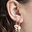 Thumbnail: Yellow Owl Workshop - Gold Pizza & Ice Cream Earrings