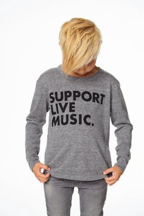 Support Live Music Long SleeveTee