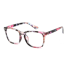 Tween Floral  Frame Blue Light Glasses