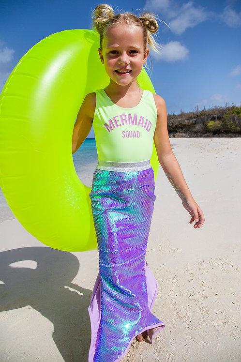 Sequin Mermaid Tail Swimwear
