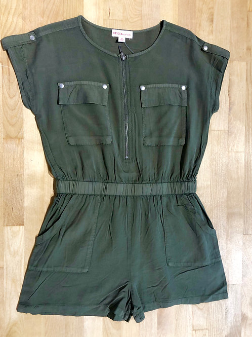 Silky Soft Safari Romper Shorts