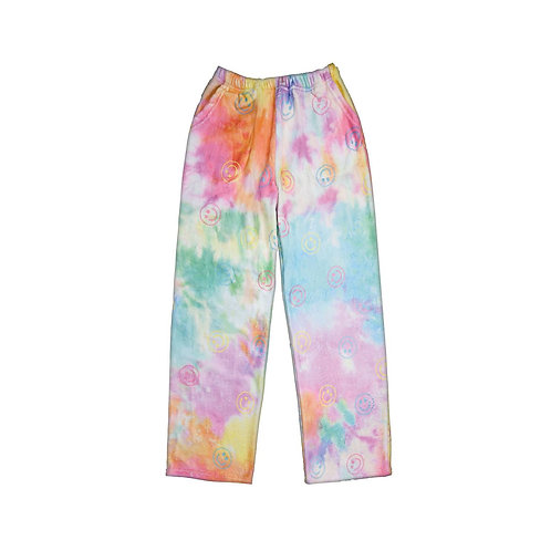 Fuzzy Cotton Candy PJ Pants