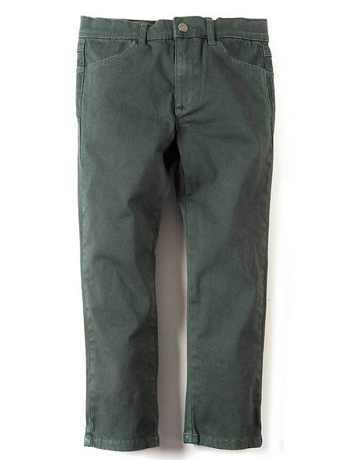 Appaman Green Skinny Twill Pants