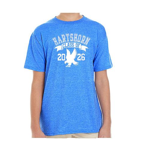 "Heather Blue Hartshorn ""Class of"" T-Shirt"