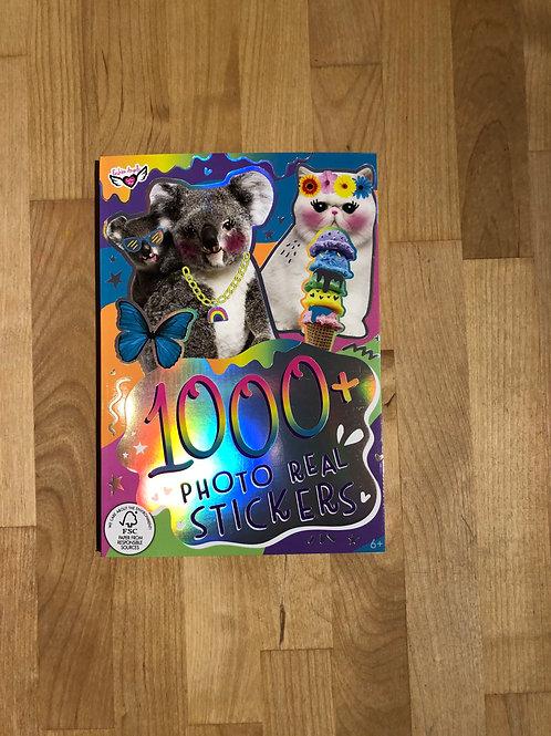 1000 Photo Real Sticker Book