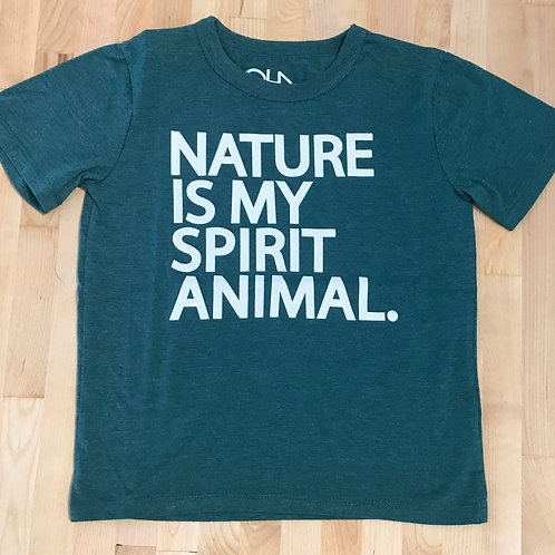 Chaser Nature Is My Spirit Animal Tee