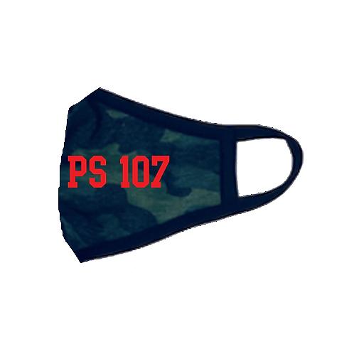 Super Soft & Breathable PS107 Camo Mask