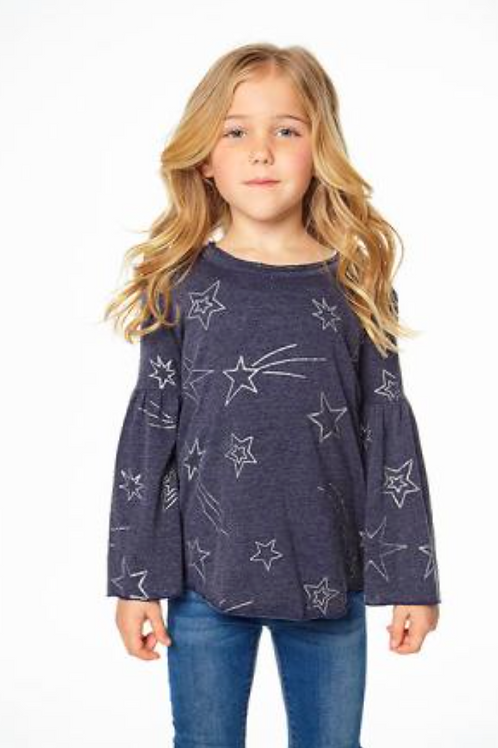 Chaser Shooting Stars Long Flared Sleeve