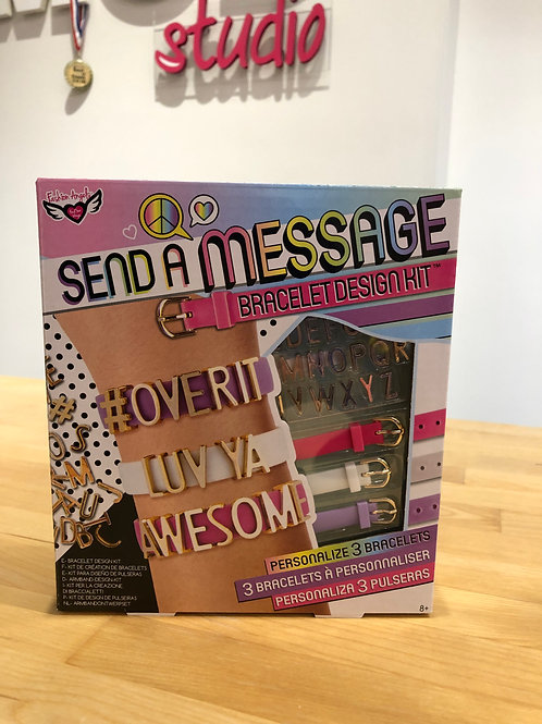 Send a Message DIY Bracelet Kit