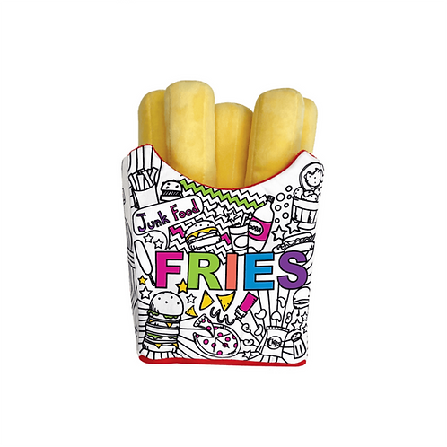 Coloring Fries  Pillow