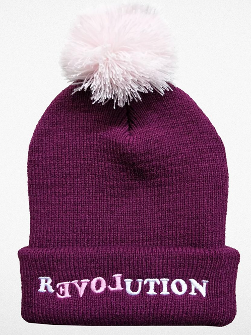 Tiny Whales Love Revolution Beanie