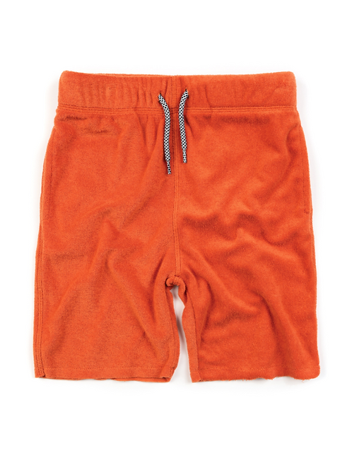 Orange Camp Shorts