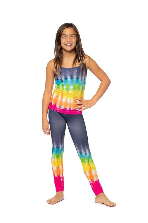 Rainbow Tie-Dye Seamless Leggings