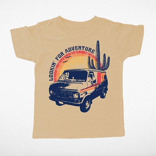 Lookin' for Adventure Graphic T-Shirt