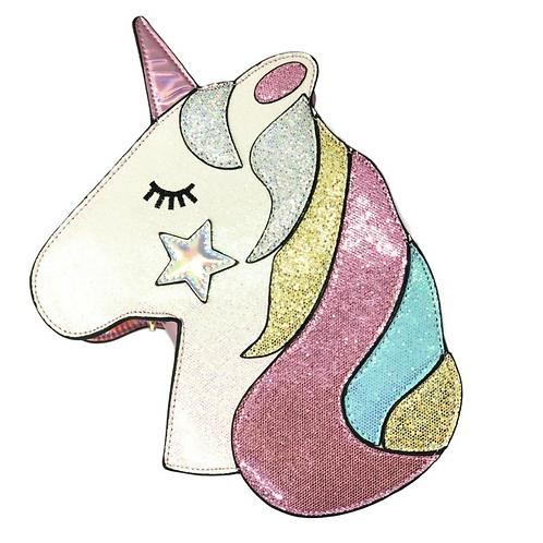 Sparkly Unicorn Purse